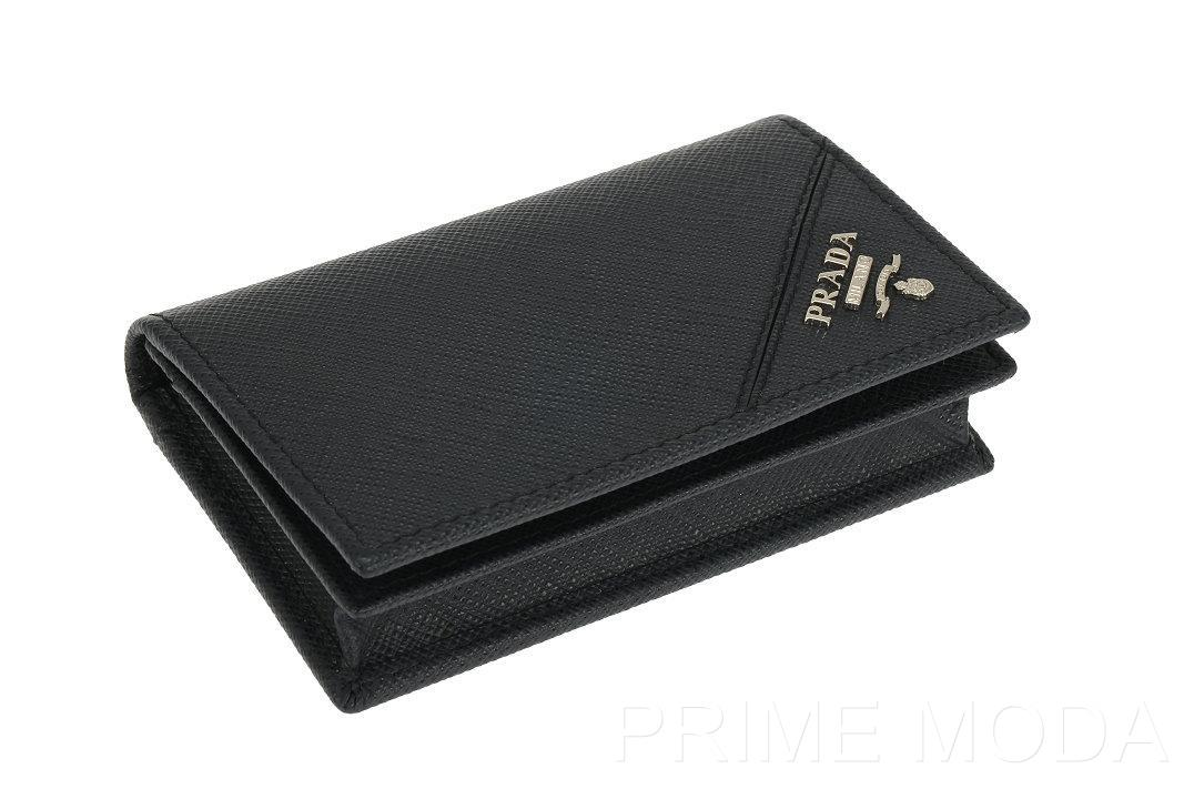 Prada Card Holder Blue