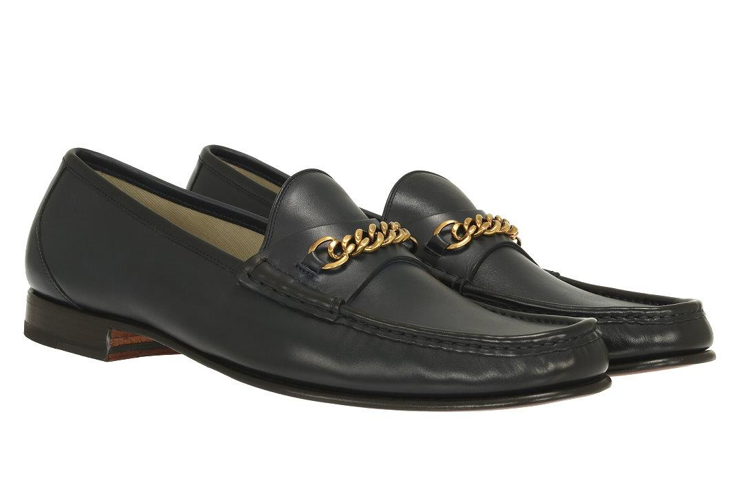 8294d9220 Details about NEW TOM FORD LUXURY YORK BLUE LEATHER CHAIN LOAFERS DRESS  SHOES 9.5/US 10.5