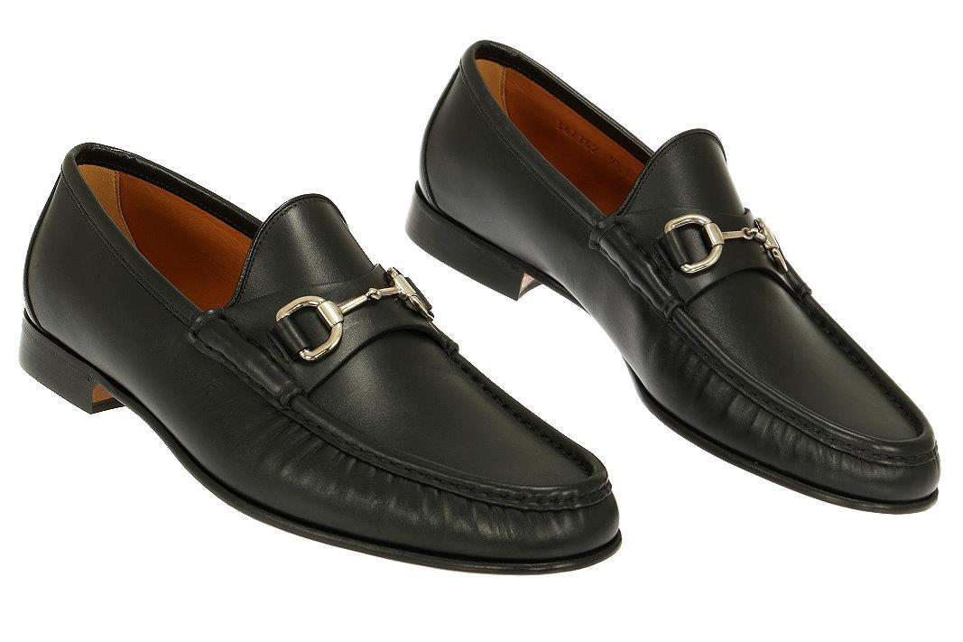 04ff8ef6990 NEW GUCCI LUXURY BLACK LEATHER HORSEBIT LOAFERS CASUAL DRESS SHOES ...