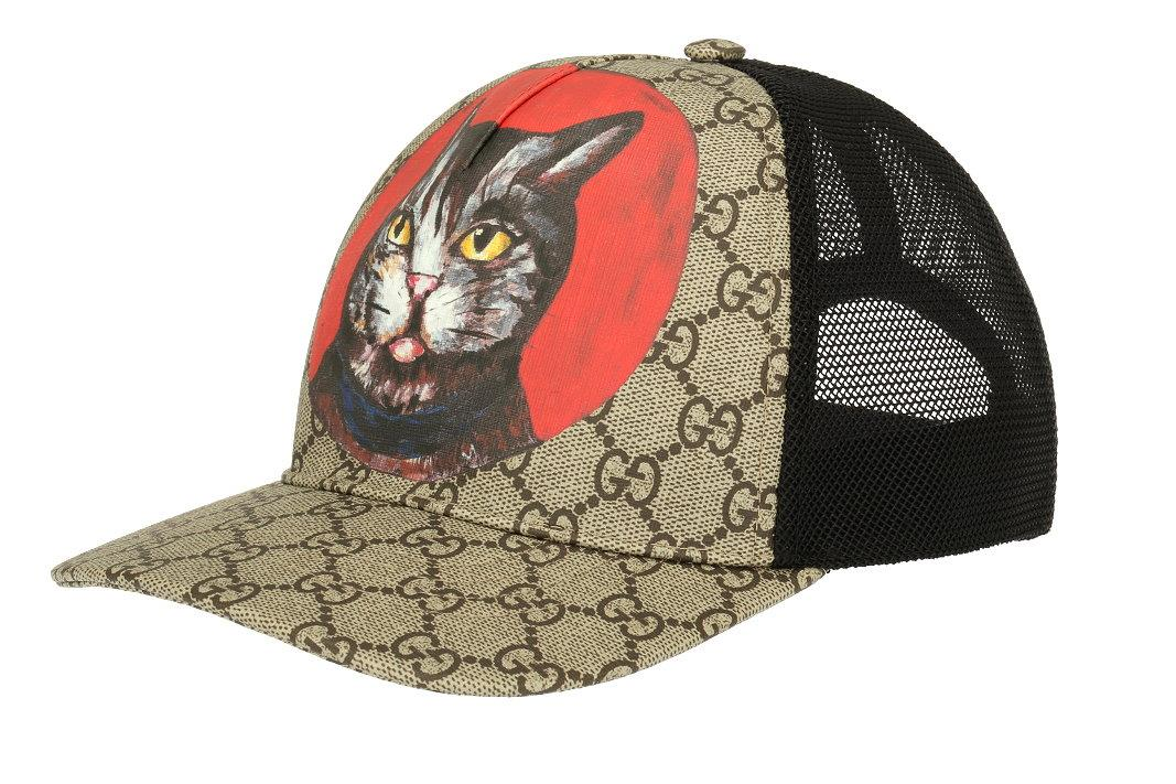 NEW WITH TAG AND DUST BAG GUCCI MEN S CAT PRINT BASEBALL CAP FROM CURRENT  COLLECTION. MADE IN ITALY. 100% AUTHENTICITY GUARANTEED. LUXURY QUALITY GG  SUPREME ... 8952568a8024