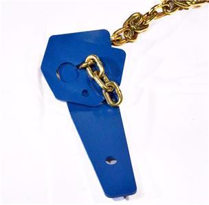 2 Chain Tie Down Hold Down Plates Chain Locks W Concrete