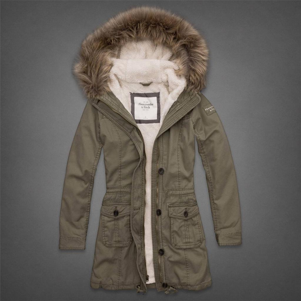 Abercrombie & Fitch Ladies NWT Codie Parka Jacket With