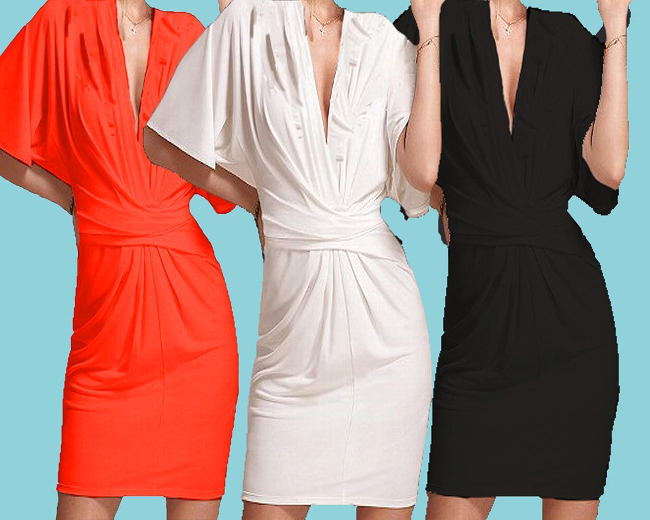 2bea00b39e NEW! Victoria Secret Flutter Sleeve Dress Mini Sexy Flattering Sexy 3 ...