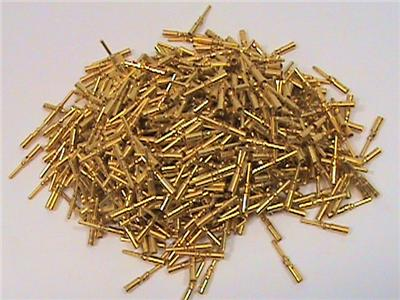 700 Each Gold Terminal Pins Winchester Electronics 100