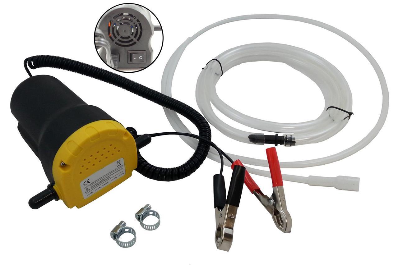 12v huile diesel pompe de transfert extracteur pour voitures vans motos 60w ebay. Black Bedroom Furniture Sets. Home Design Ideas