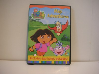 Dora the Explorer Map Adventures DVD 2003   eBay
