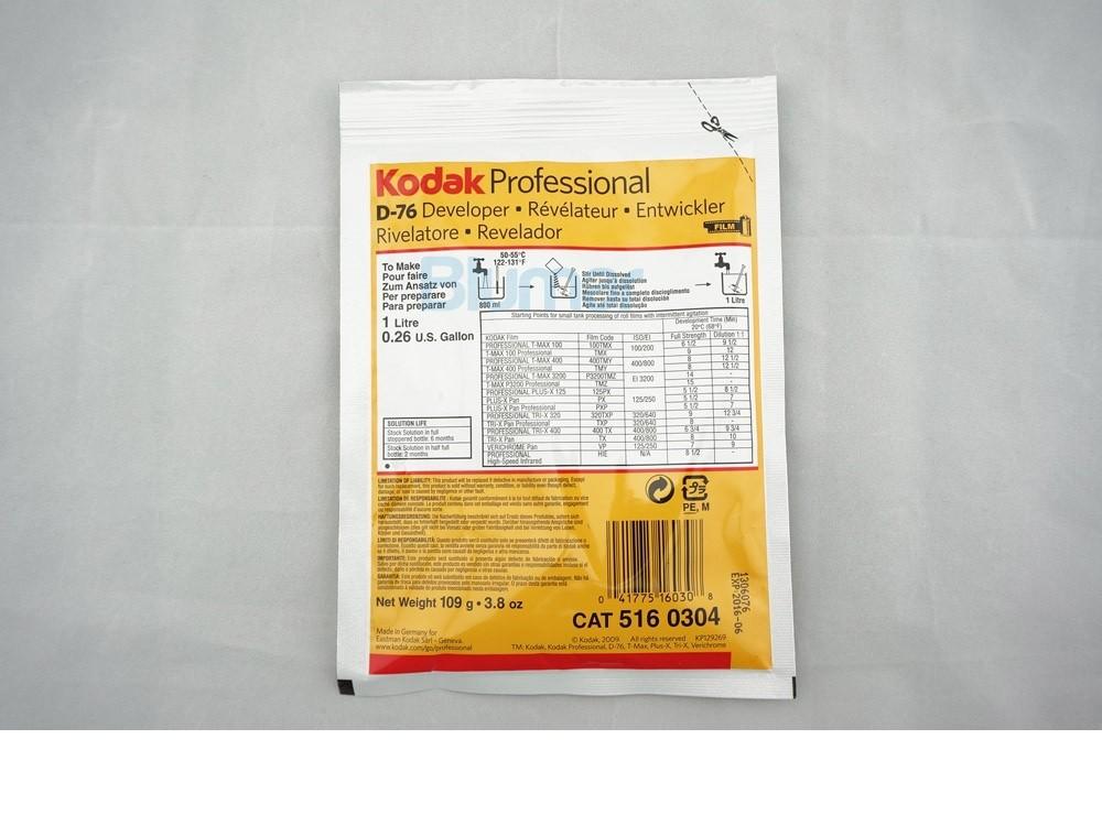 KODAK D76 D-76 1L REVELADOR DE PELICULA BLANCO Y NEGRO B//W FILM DEVELOPER