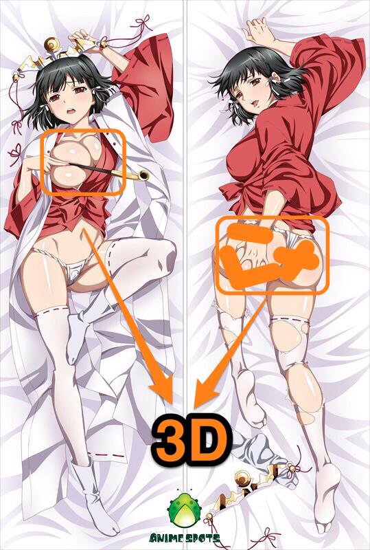 Gokou Ruri Oreimo wm035 Anime Dakimakura 3D butt /& 3D breast body pillow case