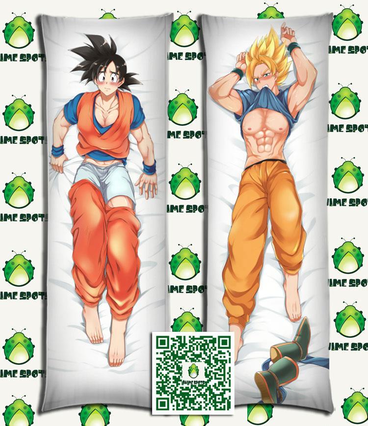 Dragon Ball Dakimakura Son Goku Kakarotto Anime Hugging Body Pillow Case Cover