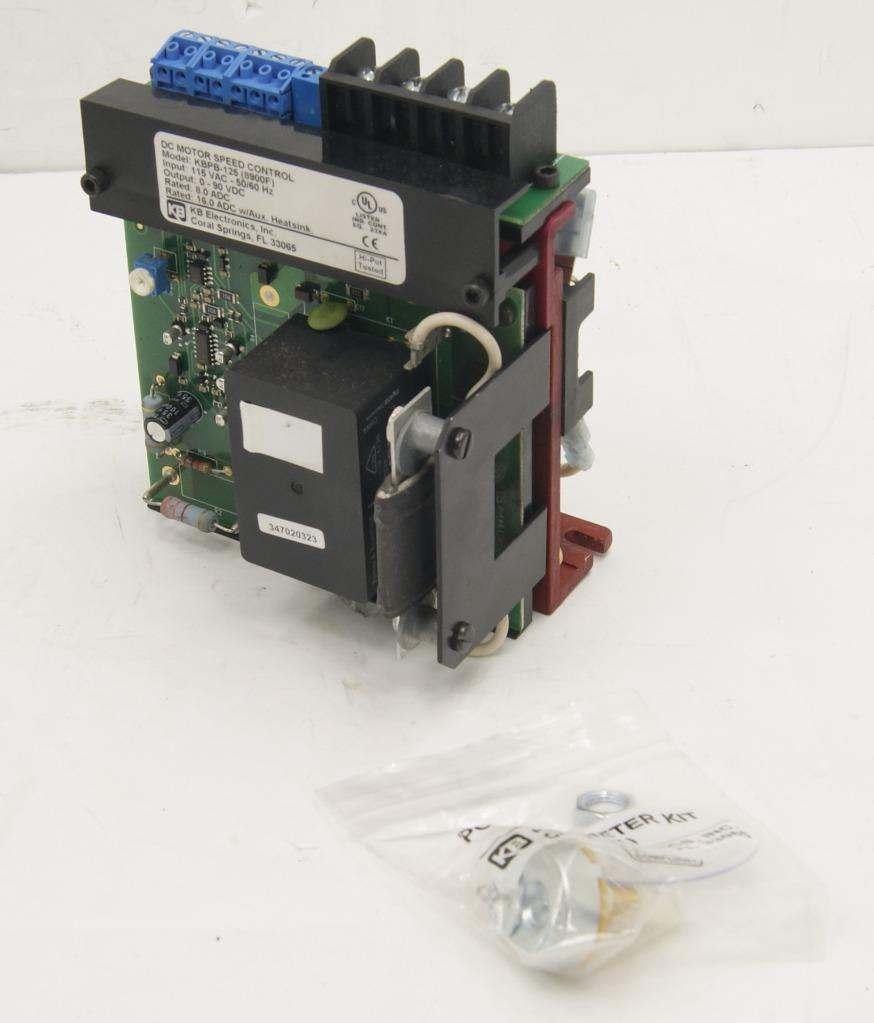 Kb Electronics Kbpb 125 Dc Motor Control Relay Reversing Chassis Using 8900