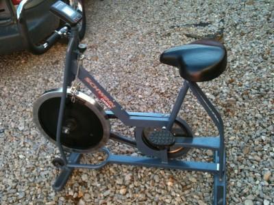 Vintage Schwinn Dx900 Stationary Exercise Bike Fitness Bicycle Airdyne Air Works Ebay