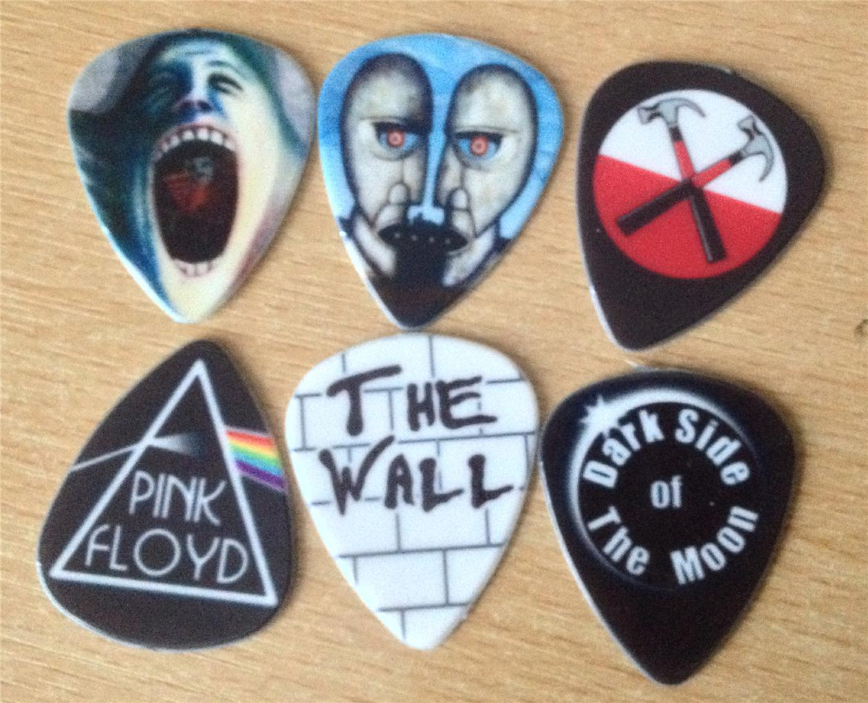 pink floyd the wall custom electric or acoustic guitar plectrums picks ebay. Black Bedroom Furniture Sets. Home Design Ideas