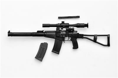 Little Armory 1//12 Scale Military Weapon Kit series042 AS VAL Type TOMYTEC