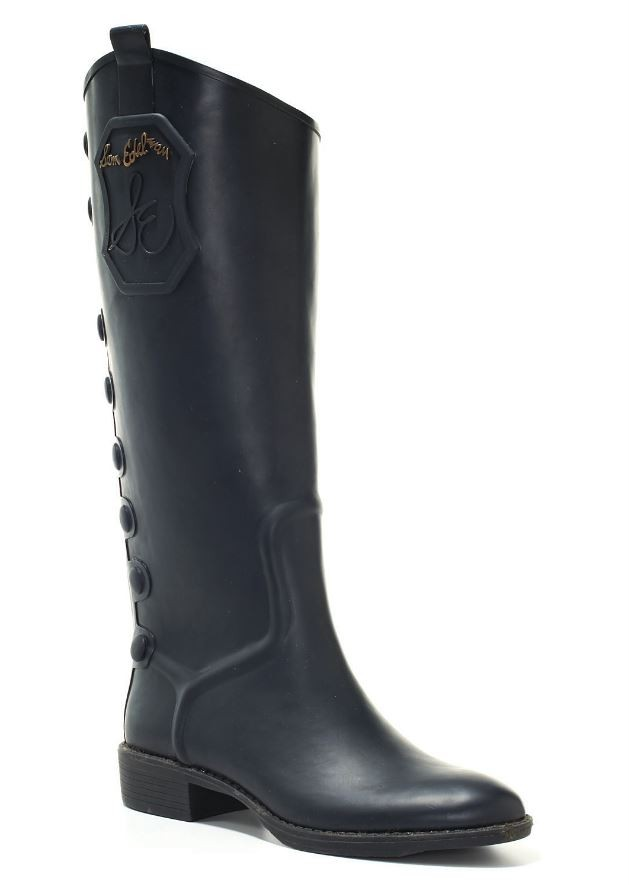 Sam Edelman Ximon Rubber Rain Boots Wellies Knee High