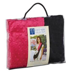 East Side Collection Sling Pet Dog Carrier Hot Pink
