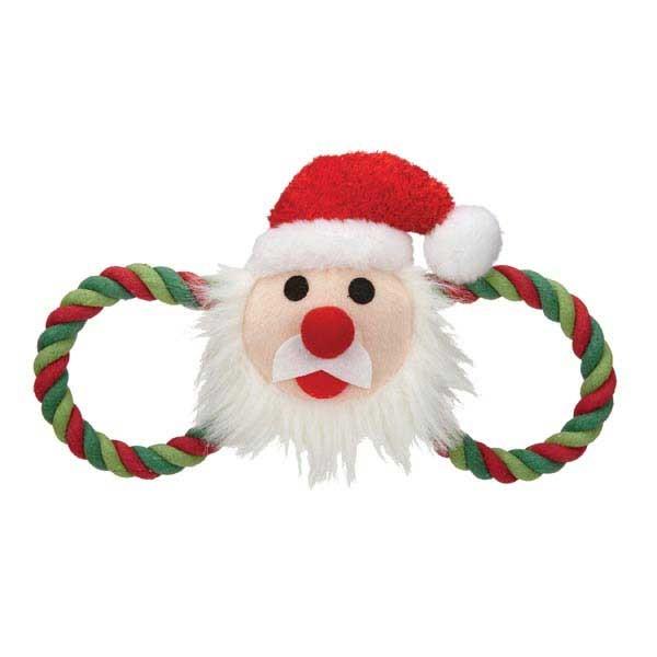 Zanies Holiday Hug Tugs Christmas Holiday Plush/Rope Dog ...
