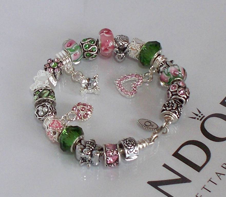 Pandora Jewelry Roll: Authentic Pandora Silver Charm Bracelet Victoria's Secret
