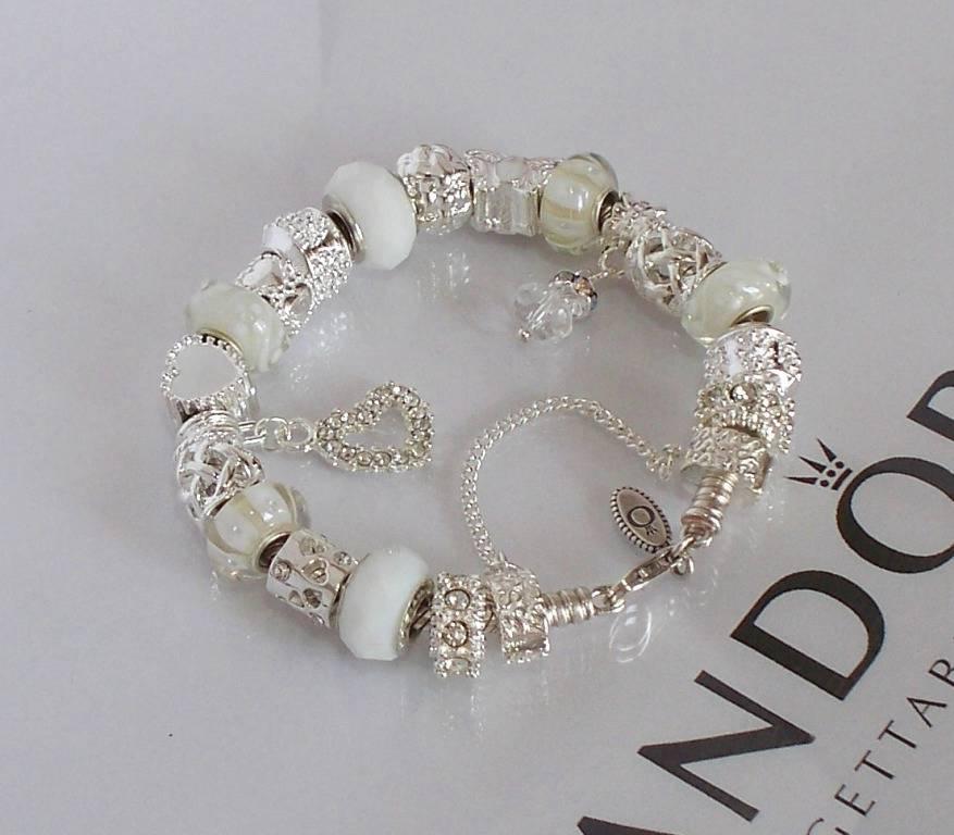 Pandora Jewelry Roll: Authentic Pandora Silver Charm Bracelet Snow White Wedding