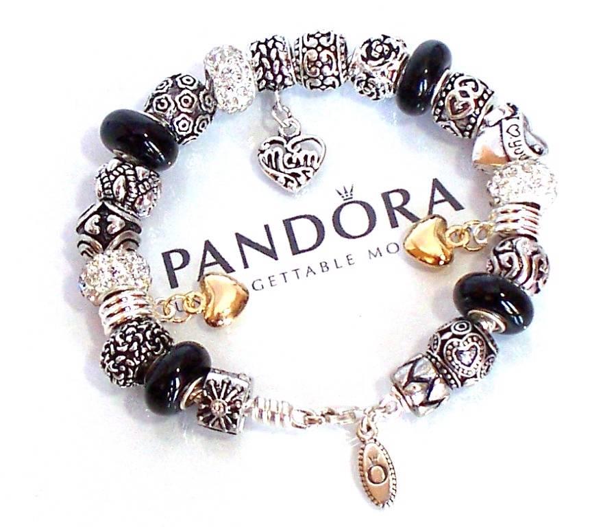 Pandora Jewelry Roll: Authentic Pandora Silver Charm Bracelet Mothers Day Love