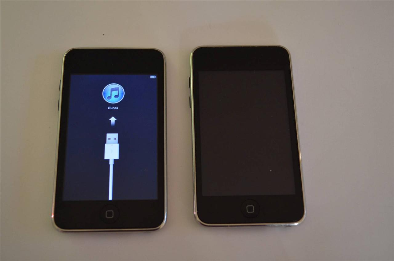 Apple iPod touch 3rd Generation Black 32 GB and 2nd 8gb ...