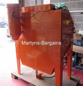 Large Sand Blasting Cabinet Sbc420 Cabinet Ideal For