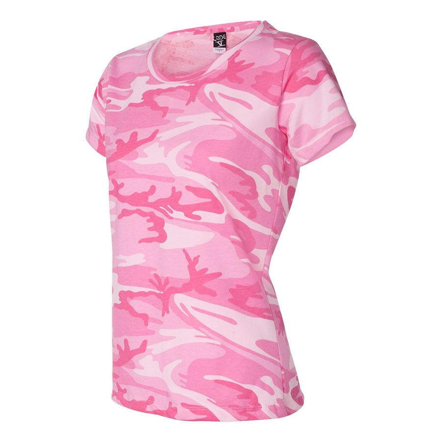 Camouflage Ladies Hunting Camo Tee Shirt SM To 2XL 3665 ...