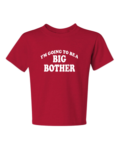 18-20=XL The Best new style #1 MANY COLORS KIDS TEE 6 Months Big Brother again