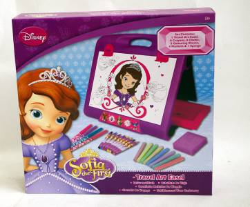 Sofia The First Childrens Travel Art Easel Drawing