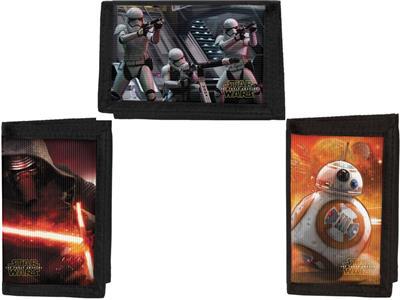 Star Wars Episode 7 Lenticular Velcro Wallet
