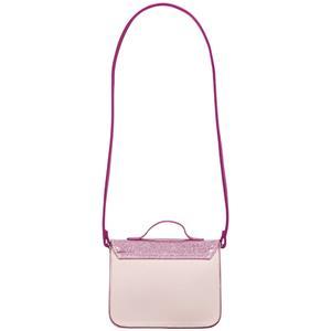 Disney Princess Rapunzel Girls Mini Satchel Handbag Shoulder Bag Glitter Pink