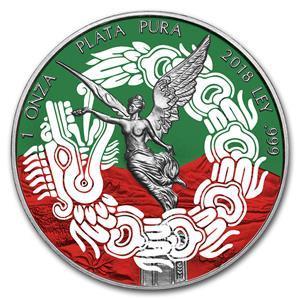 2018 Mexico 1 Onza Libertad Pablo Escobar 1 Oz Silver Coin