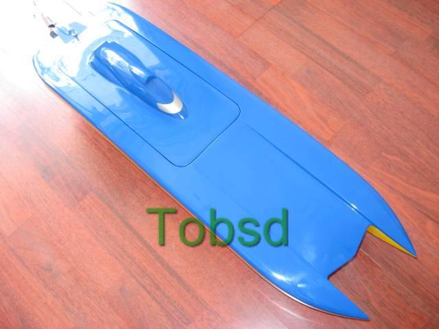 Blue Ghost Kit Catamaran EP Fibreglass RC Racing Boat Ship