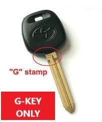 2010-2017 toyota tundra g-key