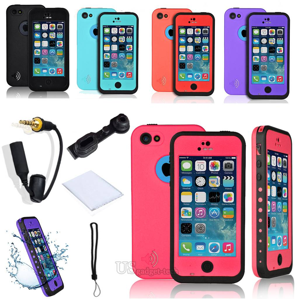 100% Genuine Redpepper Water Proof Case For Apple IPhone 6
