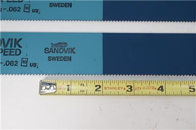 "2x England HSS Power Hacksaw Blade ESC Cyclone 425mm x 31.5mm 17/"" x 1 1//4/"" x 4T"