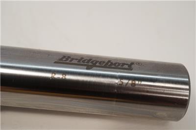 "New Old Stock Bridgeport USA R8 SAL10 5//8/"" Stub Slitting Milling Machine Arbor"