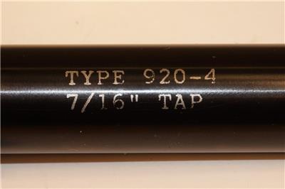 "NOS American Sun USA 3//8/"" Tap 3/"" Extension 3//4/"" Shank MOD-920-3 I 28-C3 CNC MILL"