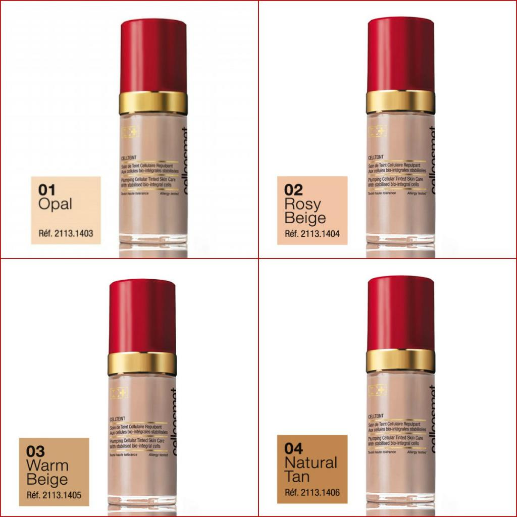 Cellcosmet CellTeint Plumping Cellular Tinted SkinCare