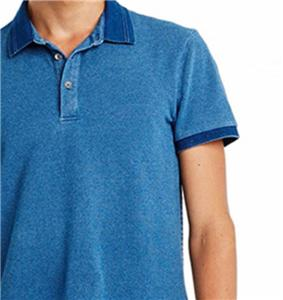 Shirt Muscle Polo Indigo Mens New Exchange Armani Ax T TwEUn