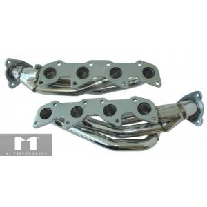 Manzo Stainless Steel Exhaust Header Manifold Fits Tundra Sequoia 01-04 4.7L