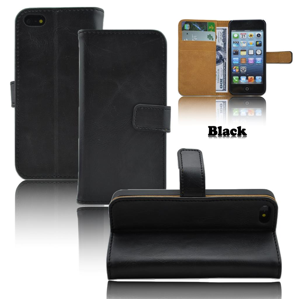 best iphone 5s wallet case top quality pu leather wallet stand for iphone 5 5s 16657