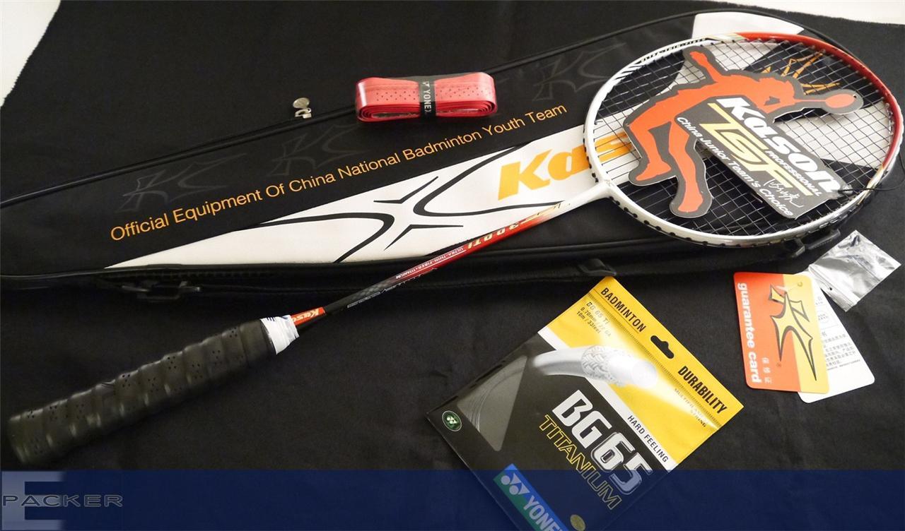Kason TSF ARCUSTEC 300Ti RE Badminton Racket + Yonex