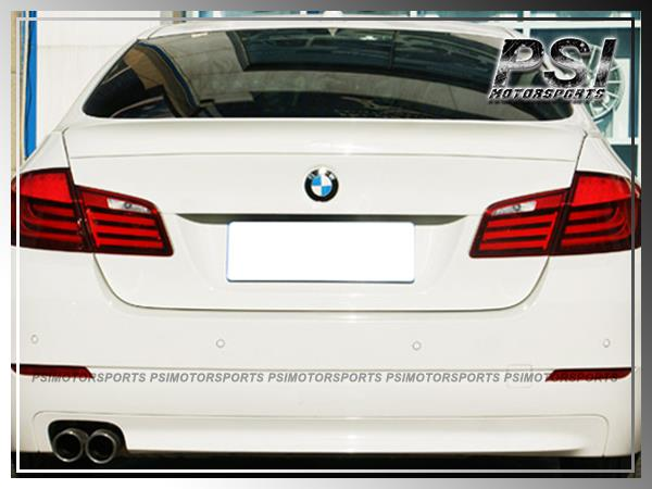UNPAINTED M5 Type Trunk Spoiler Lip For 2011-2015 BMW F10 528i 535i 550i
