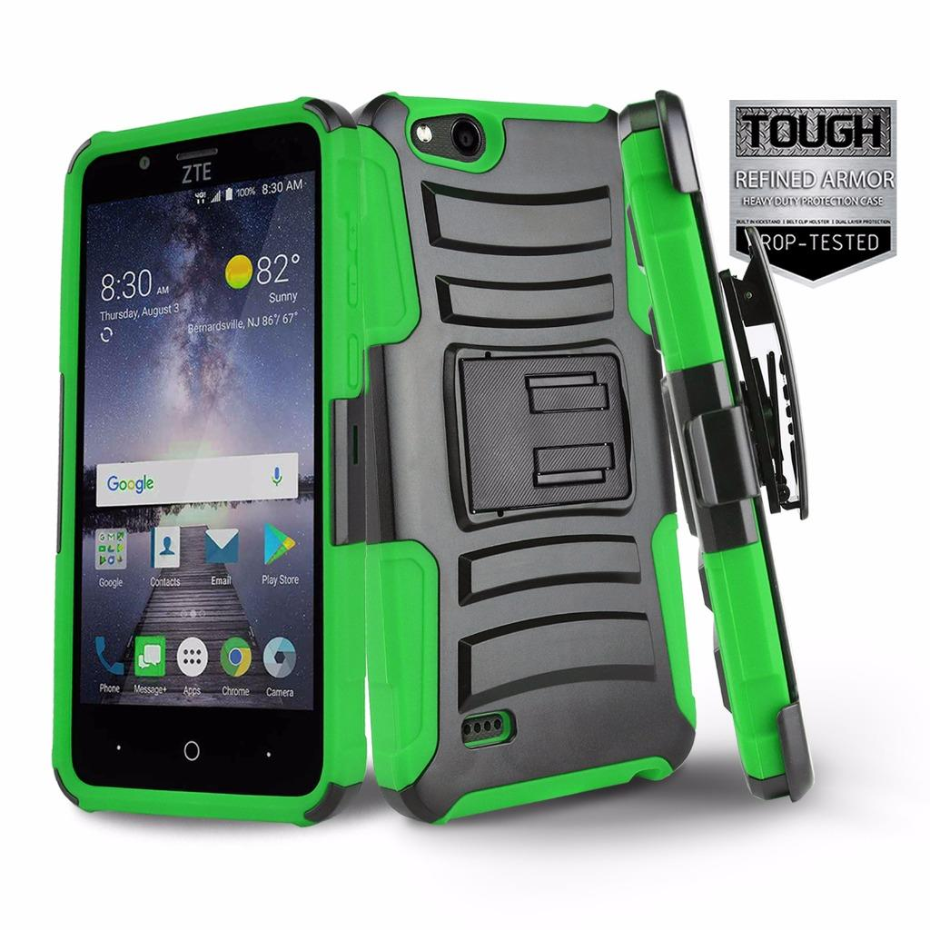FOR-ZTE-ZFIVE-G-LTE-PHONE-CASE-REFINED-SERIES-SHOCKPROOF-COVER-amp-HOLSTER