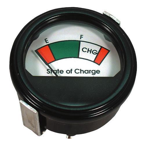 36 volt golf cart round analog battery state of charge. Black Bedroom Furniture Sets. Home Design Ideas