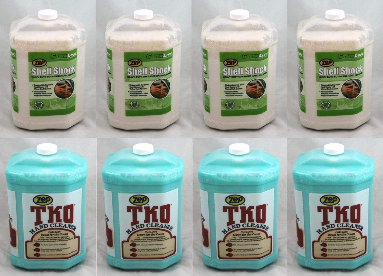 Zep Hand Cleaner Soap Shell Shock Amp Tko 4 Gal Each Zep