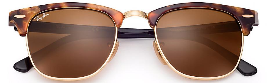 976eb437a5 ... Sunglasses  ray ban clubmaster brown