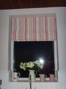 Laura Ashley Fabric ★ Mylor Stripe Roman Blind ★ 60 Cms
