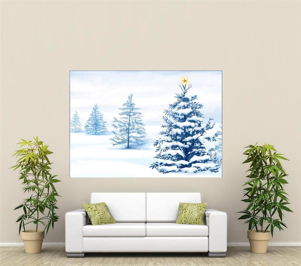 weihnachten urlaub riesig 1 teile wandkunst poster h113 ebay. Black Bedroom Furniture Sets. Home Design Ideas