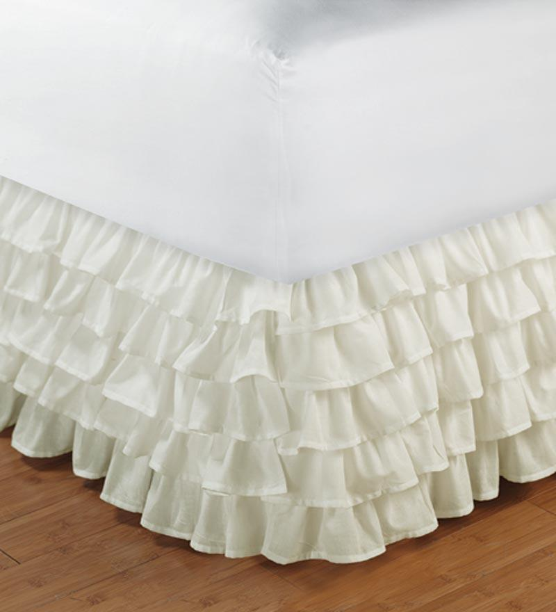Find great deals on eBay for twin white bedskirt. Shop with confidence.